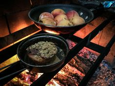 Campfire Cooking: How to Make Nutella-Peach S'mores | Field & Stream
