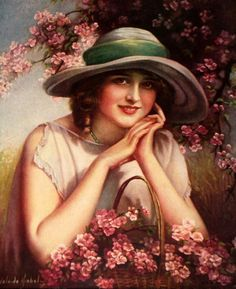 Indian Maidens On Rocks Hiawatha's Honeymoon Apple Blossom Time Indian Maiden Holding A Water Lily Firefly True Friendship Month Of Rose Sewing Our Flag By The Waters Of Minnetonka My Love&#8…