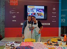 SEMANA DESIGN RIO | 2 de setembro 2016 | Estamparia Artesanal com Wagner Campelo e Daniela Brum