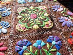 Sewing & Quilt Gallery: Aunt Millie's Garden
