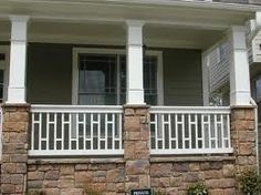 craftsman-style-porch-railong - Google Search
