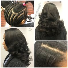 If your sew-in hair weave doesn't look like your own hair, then you need to come see ME! ***Call or text Natalie B. at (312) 273-8693 to schedule your appointment for one of my signature TRADITIONAL SEW-IN HAIR WEAVES!   IG: @iamhairbynatalieb FB: Hair by Natalie B.
