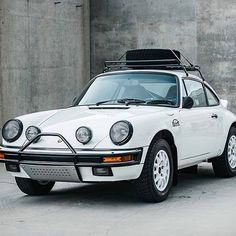 Porsche 911 LuftAuto is the dream ride for the weekend.
