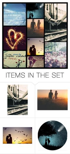"""""""love is everywhere....don't stop believing....you'll find it ;)"""" by heartandsoul ❤ liked on Polyvore featuring art"""