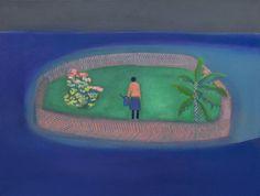 """Floating Garden"", 2016 by Tom Hammick - Oil on canvas #arte #pintura"