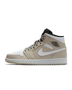 online retailer 035f8 d03e8 Nike Jordan 1 Mid Desert Sand White-Black (11 D(M) US)