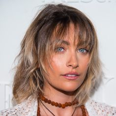 Icy Bronde Darker roots are not only easier to maintain, but give your look a nice, sharp edge.