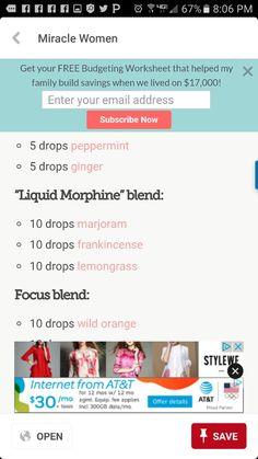 Another liquid morphine