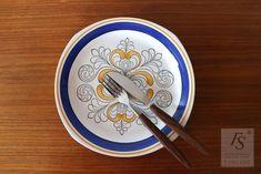 Gefle EK ruokalautanen 23,5 cm - FourSeasons.fi Retro, Tableware, Dinnerware, Tablewares, Retro Illustration, Dishes, Place Settings