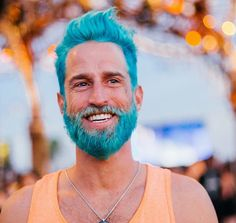 'Mermen' Hair Trend Has Guys Dying Their Hair With Crazy Blues And Greens