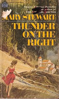 Mary Stewart - Thunder on the Right