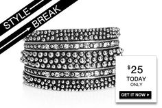STYLE BREAK! Get the Beverly Cuff for $25. Today Only!    https://langsluxuries.kityslane.com