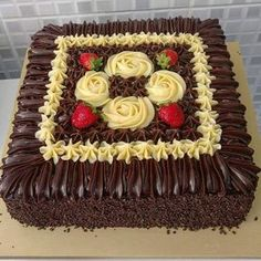 Is healthy desserts what you want? Everything you need to know is on the link below :) Pretty Cakes, Beautiful Cakes, Amazing Cakes, Chocolate Delight, Chocolate Cake, Cake Decorating Techniques, Cake Boss, Buttercream Cake, Love Cake