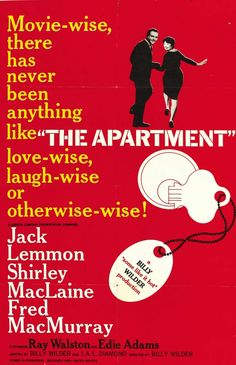 Pin it to Win it - MRR Oscar Giveaway - The Apartment - Best Picture 1960