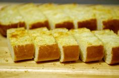 Parmesan Garlic Bread - Recipe File - Cooking For Engineers