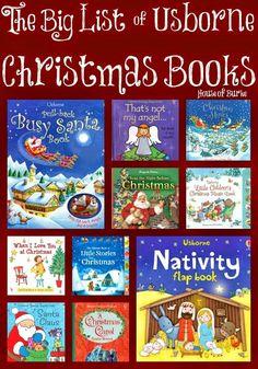 The Big List of Usborne Christmas Books - House of Burke