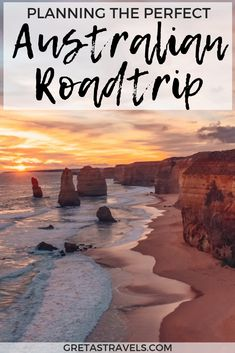 The Great Ocean Road in Australia is one of the most scenic and famous road trip. - The Great Ocean Road in Australia is one of the most scenic and famous road trips in the world. Perth, Brisbane, Tasmania Australia, Visit Australia, Melbourne Australia, Australia Living, Cool Places To Visit, Places To Travel, Travel Destinations