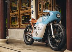 米国カスタムビルダー Little Horse Cycles のHONDA CB550が匂いたつくらいカフェらしい。 - LAWRENCE - Motorcycle x Cars + α = Your Life.