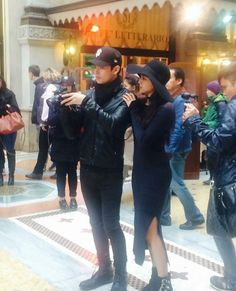Seriously, they could become one of Philippines' most fashionable couples..bet na bet these two! ~~yOys