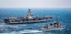 Irán y China podrán hundir portaaviones de EEUU en posible guerra futura
