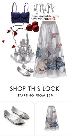 """""""VIOLENT DELIGHTS."""" by heyysusana ❤ liked on Polyvore featuring Disney and Romeo + Juliet Couture"""