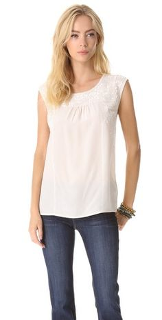 Joie Alexei Embroidered Top | SHOPBOP