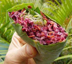 Vegan Recipes - Green Burritos.