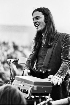 Pink Floyd - David Gilmour and his beautiful smile. September 18, 1970 in California.