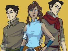 Avatar Trio by burdge on DeviantArt Team Avatar, Avatar Aang, Avatar The Last Airbender, Burdge Bug, Bug Art, Fire Nation, Nerd Love, Kids Shows, Legend Of Korra