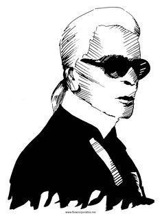 #KarlLagerfeld #talento #diseñador