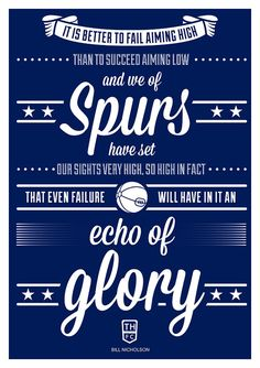 Tottenham Hotspur  Bill Nicholson Quote by headfuzzbygrimboid
