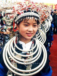 A girl from Miao minority - China