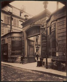 Hotel de Montmorency - 5 rue de Montmorency. (3e arr) - Eugène Atget, 1908