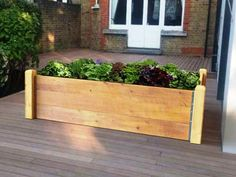 This raised garden bed kit is the easy way to grow your own fruit and vegetables. Made from thick timber boards & corner posts it will last many years of gardening Raised Bed Kits, Raised Garden Beds, Raised Beds, How To Level Ground, Garden Planters, Compost, Vegetable Garden, Organic Gardening, Shrubs