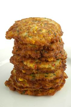 The great thing about corn fritters is that they are perfect anytime of the day. Have them at breakfast with a little wilted spinach, some bacon and roast tomatoes. Serve them at lunch with a salad of arugula, fetta and salmon. Use them for dinner as the base to any seafood or chicken dish. When entertaining serve mini-fritters as a canape topped with a little smoked chicken and mango salsa. The options are endless and I trust that once you give this recipe a try, you will soon be adding to…
