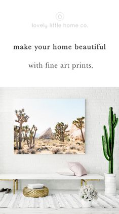 Are your walls empty because you just can't make up your mind on what art to hang up? Show your walls some love and make your home beautiful with our fine art prints. ❤️