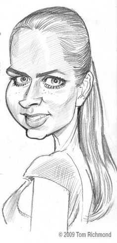 Amy Adams  (by Tom Richmond)
