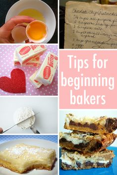 Even if you don't know creaming butter from cream cheese, these vital tips for beginning bakers will start you out on the right foot. On Craftsy!