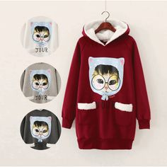 Nov79 Cat Logo Hoodies Sweater ★ Free Worldwide Shipping ★ - $29.00 #onselz