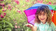 Als de zon schijnt, is het wel droog, maar dan zie je nooit een regenboog.