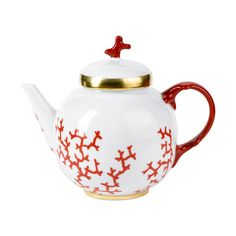 (Own) Raynaud Cristobal Coral Teapot
