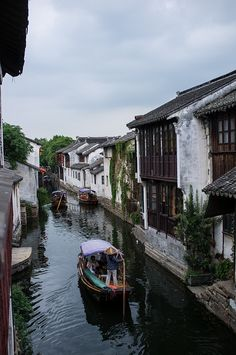 Zhouzhuang is another ancient Venice of China where dad and I went on a boat in China Architecture, Ancient Greek Architecture, Gothic Architecture, Travel Around The World, Around The Worlds, China Travel, Chinese Culture, Places To See, Travel Inspiration