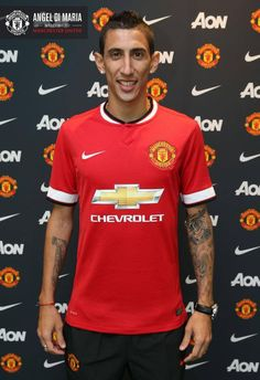 "Ángel di Maria: ""There were a lot of clubs interested in me, but United is the only club that I would have left Real Madrid for."" ♥"