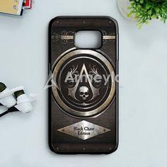 Assassins Creed Black Flag Logo Samsung Galaxy S7 Case   armeyla.com