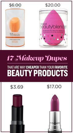 17 Makeup Dupes That Are Way Cheaper Than Your Favorite Beauty Products