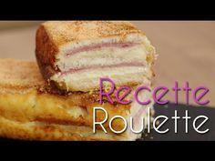 Croque-cake au jambon - Recette de cuisine Marmiton : une recette