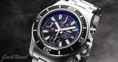 BREITLING  Super Ocean Chronograph / Ref.A110B85PSS