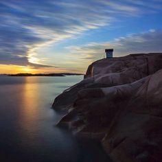 .@esselind | Tonights sunset... Some late night longexposure love. | Webstagram - the best Instagram viewer