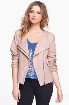 Mural Faux Suede Jacket available at #Nordstrom