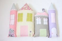 Pillow House, Pillow Children, Stuffed Toy, Kids Room Decoration,  Gift  Baby Shower